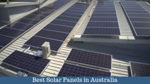 Solar Panel Cost in Australia