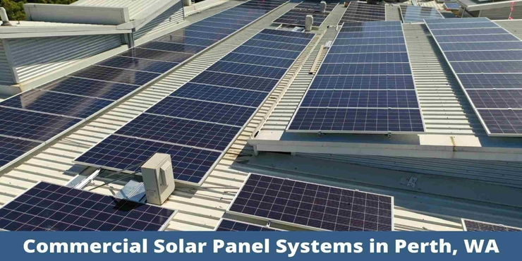 Commercial Solar Panel System in Perth, WA