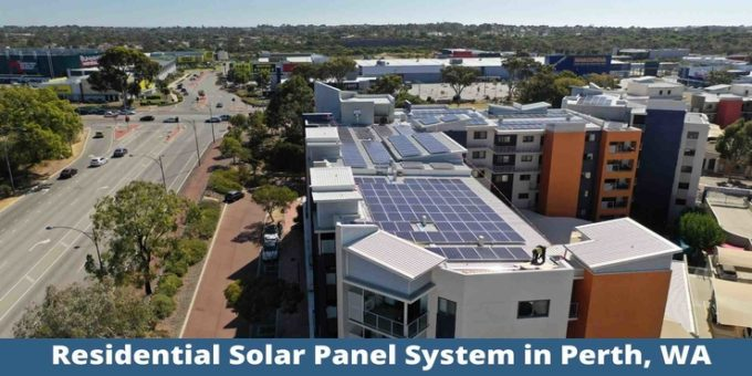 Residential Solar panel system Perth, WA