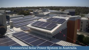 commerical solar power system in australia