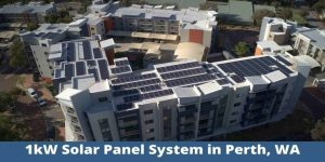 1kW solar panel system in Perth, WA