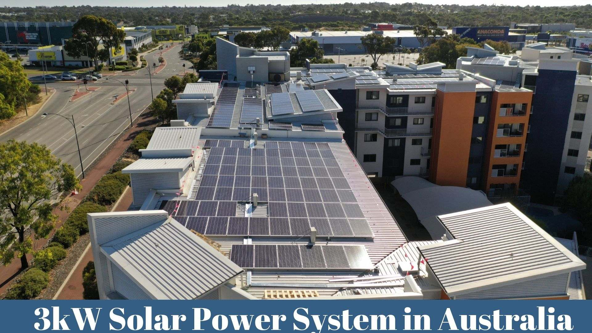 3kW Solar Power System in Australia