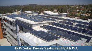 4kW Solar PV System in Perth WA