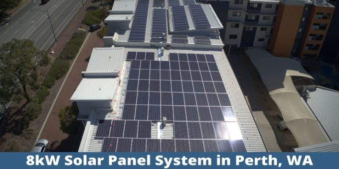 8kW solar panel system for Perth, WA