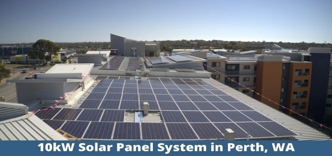 10kW Solar Panel System in Perth, WA